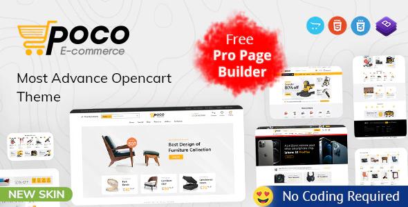 Poco Advanced OpenCart Theme