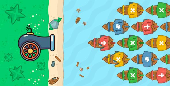 Port defender 2 Infinity flow HTML5 PCMobile Game Construct 2 3