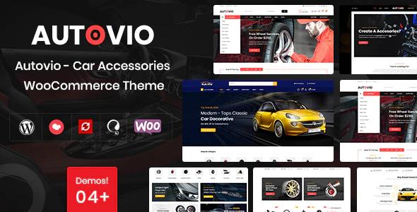 Autovio Car Accessories WooCommerce Theme