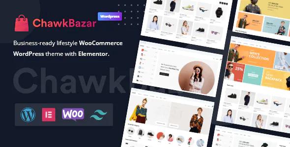 ChawkBazar Lifestyle WooCommerce WordPress theme