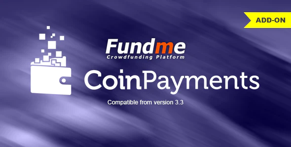 Coinpayments Payment Gateway for Fundme