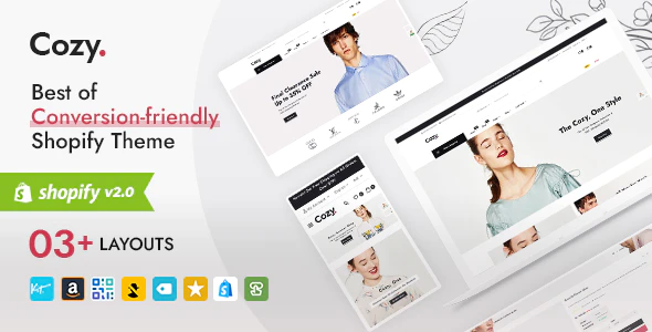 Cozy Best of Shopify Multipurpose Responsive Theme