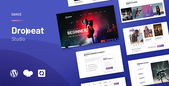 Dropbeat Creative Dance Studio WordPress Theme