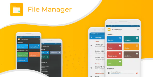 File Explorer and File manager android app with admob