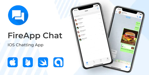 FireApp Chat IOS Chatting App for IOS