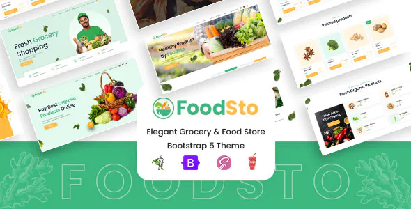 Foodsto Grocery Food Store Hbs Scss Html Theme