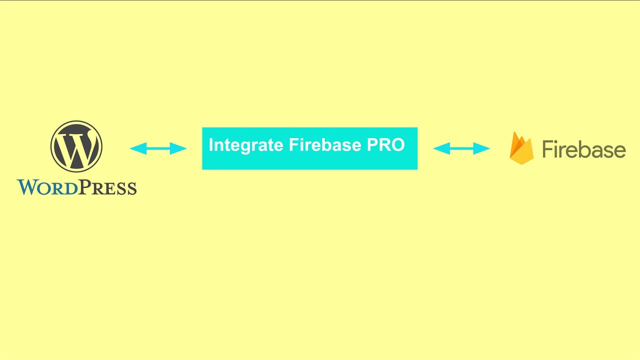 Integrate Firebase Pro