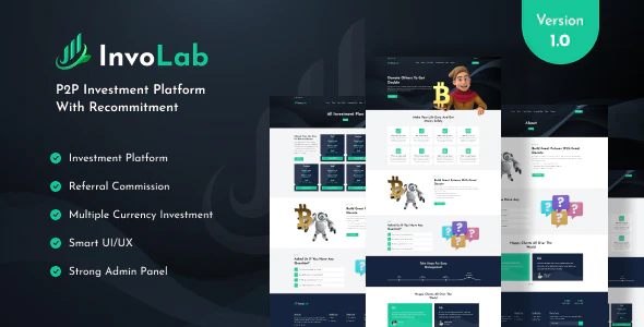 InvoLab P2P Investment Platform With Recommitment