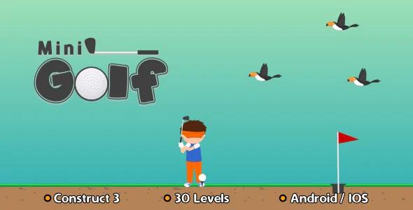 Mini Golf HTML5 Game Construct 3
