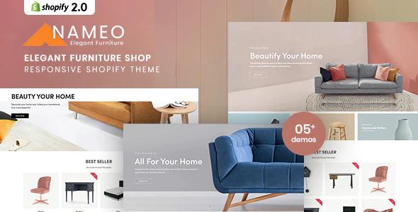 Nameo Elegant Furniture Shop For Shopify