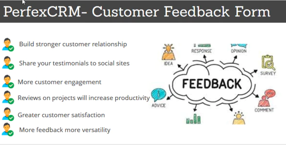 Perfex CRM Customer Feedback Module