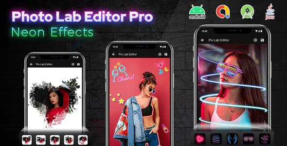 Photo Lab Editor Pro Neon Effects Photo Editor