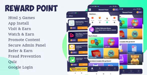 Reward Point Html Games Custom Offerwall