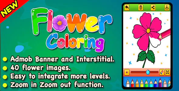 Top Kids Games Flower Coloring Admob Education Ready For Publish