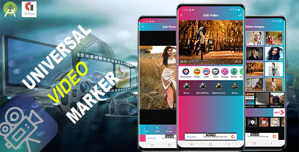 Universal Video Maker Android 11 supported and SDK 30