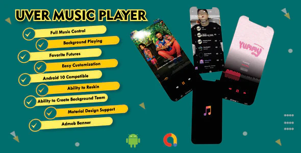 UverMusic Player AudioMack Clone Best Music Player with Possible admob Integration