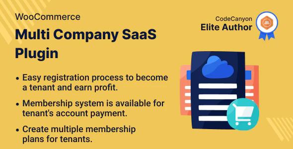 WooCommerce Multi Company SaaS Plugin